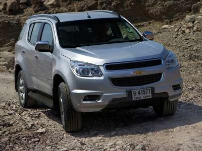 Chevrolet TrailBlazer 2 поколение